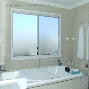 Aluminium Sliding Window with Frosted Glass for Bathroom (FT-W80) pictures & photos