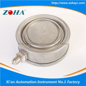 Stainless Steel Manometers with Resistance to Vibration pictures & photos