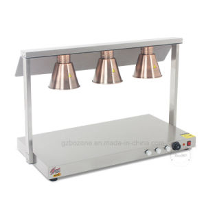 Single Head Stainess Steel Food Warmer Lamp Lh-01 pictures & photos