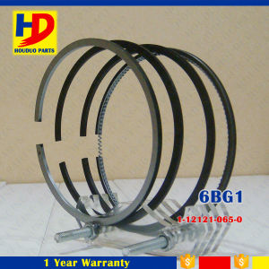 6bg1 Isuzu Diesel Engine Piston Ring (1-12121-065-0 1-12121-101-0 1-12121-121-0) pictures & photos