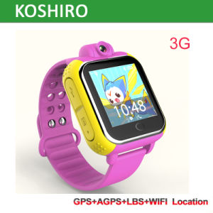 Android 3G GPS Tracker for Kids with Camera pictures & photos