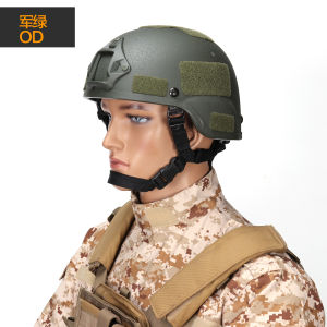 Mich 2000 Replica Tactical Army Helmet with Nvg Mount Frame Helmet pictures & photos