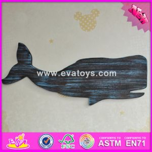 2017 Wholesale Home Decoration Wooden Wall Decor, New Design Wooden Wall Decor, Fish Shape Wooden Wall Decor W09d017 pictures & photos
