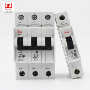 Mini Circuit Breaker with Low Volatage and High Breaking Capacity pictures & photos