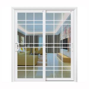 Feelingtop 1.4mm Double Tempered Glazing Aluminum Sliding Doors pictures & photos