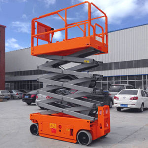 Hot Sale Sjzx Scissor Lift with Max Working Height 10m pictures & photos
