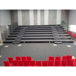 Jy- 768 Electrical Telescopic Seating, Retractable Bleachers Seating, Gym Bleachers Seating Indoor Automatic Telescopic Retractable Seating Bleacher Tribune pictures & photos