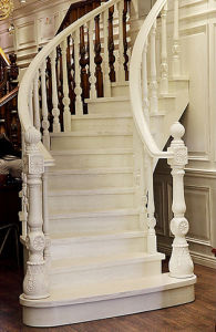 Natural Oak Solid Wood Staircase pictures & photos