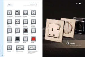 Factory Produce High Quality Stainless Steel Wall Switch pictures & photos