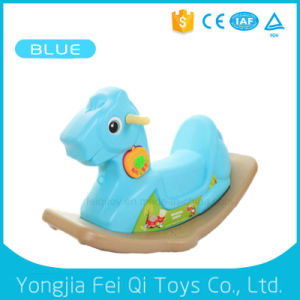 Unique Daycare Chrisha Playful Plush rocking Horse for Kids pictures & photos