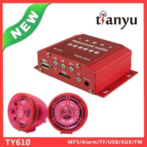 China Motorcycle Alarm MP3 Player Automobile and Motorcycle Parts pictures & photos
