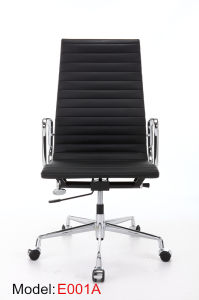 Aluminium Office Hotel Leather BIFMA Certificated Manager Eames Chair (E001A) pictures & photos