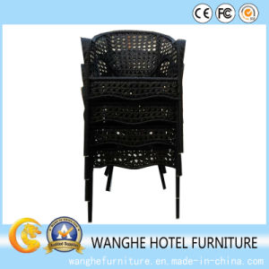 Chinese Antique Design Single Rattan Chair Set pictures & photos