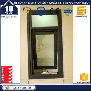 Double Glazed Aluminium Top Hung Window with Thermally Broken Profile pictures & photos