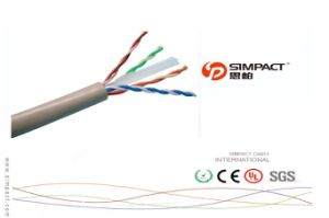 23AWG 305m Bulk UTP CAT6 Network Cable PVC Jacket UTP CAT6 Cables with Factory Price pictures & photos