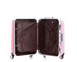 Good Design Trolley Case Set, Aluminum Frame Luggage (XHAF034) pictures & photos