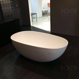 2017 Hot Sale Freestanding Acrylic Stone Bath Tub pictures & photos