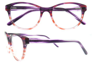 Fashion Lady New Design Acetate Handmade Eyewear pictures & photos