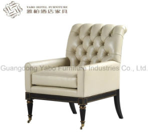 Leisure Hotel Furniture with Fabric Living Room Chairs (6206) pictures & photos