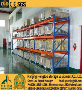 Steel Wire Mesh Pallet Container, Mesh Storage Cage Container, Metal Basket for Warehouse Storage Rack pictures & photos