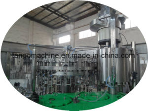 Soda Water Beverage Soft Drink CSD Filling Bottling Packing Machine Production Line pictures & photos