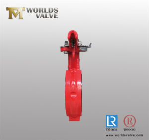4 Inch Industrial Butterfly Valve pictures & photos