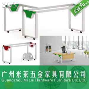 Fashion &Modern Office Wooden Desk with Metal Leg pictures & photos