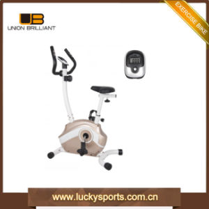 New Design Hot Sale Home Trainer Upright Bikes Small Exercise Bike pictures & photos