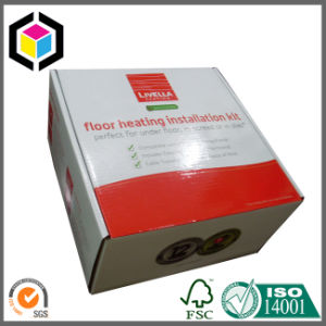 Foldable Glossy Color Print Corrugated Paper Shipping Box pictures & photos