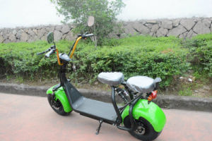 2016 Popular Harley Style Electric Kick Scooter with Big Wheels pictures & photos