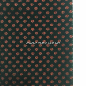 Jacquard DOT Wool Fabric in Ready pictures & photos