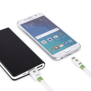 Phone Accessories Dual Color Flat Fast Charging Mobile Phone Micro USB Cable pictures & photos