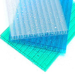 Best Crystal Plastic Polycarbonate Hollow Sheet for Roofing pictures & photos