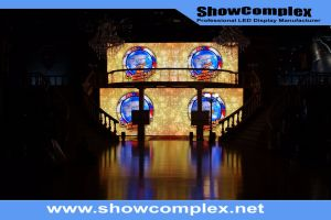 Hight Brightness of Outdoor Full Color Rental LED Video Wall with Front Service (pH4.81) pictures & photos