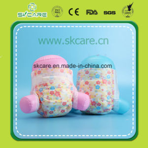 Soft Cotton Film Magic Tape Baby Diapers with Rock Bottom Price pictures & photos