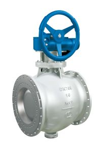 Double Eccentric Semi-Ball Valve Used in Steel Indutry pictures & photos