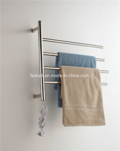 Global Popular Removable and Folding Stainless Steel Towel Warmer pictures & photos