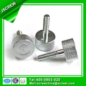 Carbon Steel Flat Knurling Head Customize Machine Screw pictures & photos