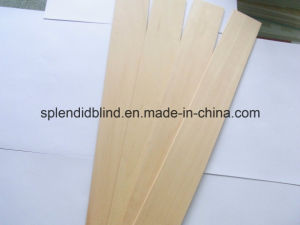 50mm Venetian Basswood Blinds (SGD-W-5656) pictures & photos