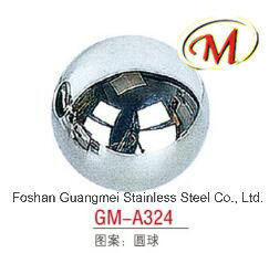 Stainless Steel Ball with 4 Holes pictures & photos