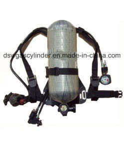 Carbon Fiber Composite Scba Oxygen Breathing Apparatus pictures & photos