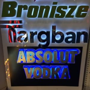 LED Epoxy Resin and Acrylic Lighting Letter Sign pictures & photos
