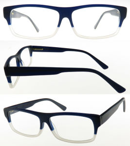 Rectangle Style of High Quality Acetate Optical Frame pictures & photos