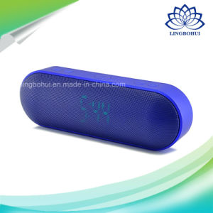 LED Screen FM Function Bluetooth Speaker with TF USB Slot pictures & photos