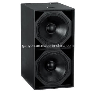 """S218+ Dual 18"""" 2000W Powerful Subwoofer, Professional Bass Loudspeaker pictures & photos"""
