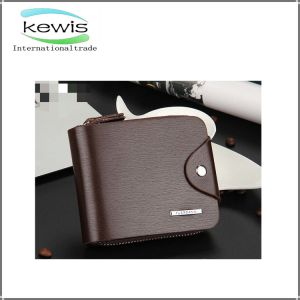 Fashion Western Style Men Genuine Leather Wallet pictures & photos