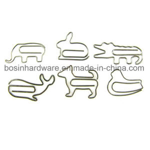 Nickel Plated Animal Shape Paper Clips pictures & photos
