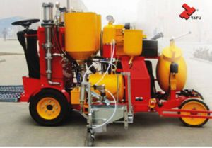 Self-Propelled Cold Paint Road Marking Machine for Sale pictures & photos