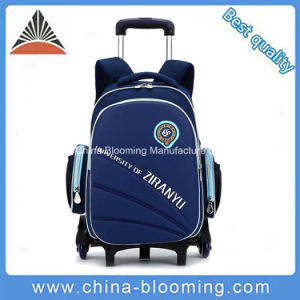 Removable Trolley School Bag Wheeled Backpack Waterproof Luggage Bag pictures & photos