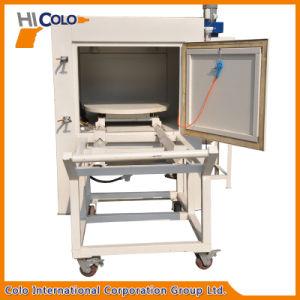 Dry Sandblasting Machine with Turntable pictures & photos